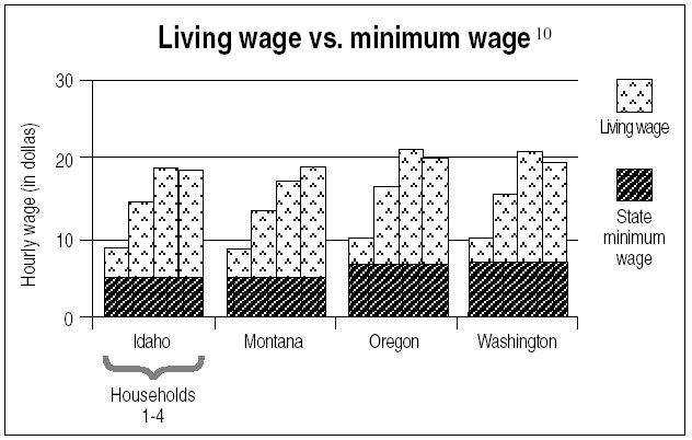 living from minimum wage The live the wage challenge made it clear that meat is unaffordable on a minimum wage budget it takes meticulous planning and discipline to live on the minimum wage and still we went over by $447, despite the many advantages we have over a poverty wage couple.